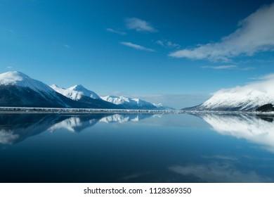 Girdwood, Alaska mountains