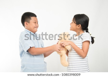 Girl Angry Boy Each Other When Stock Photo Edit Now 1080398009