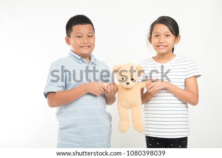 Girl Angry Boy Each Other When Stock Photo Edit Now 1080398039