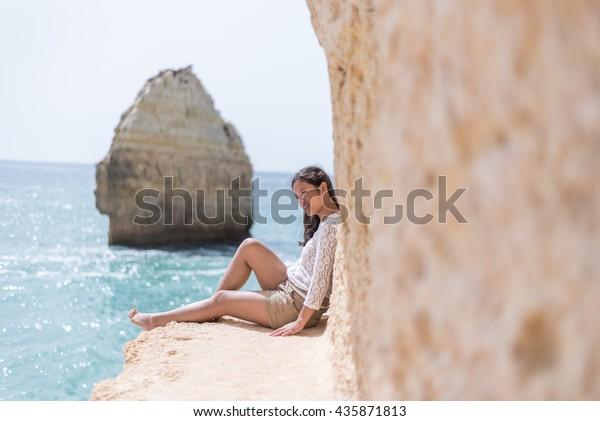 Girls in Algarve