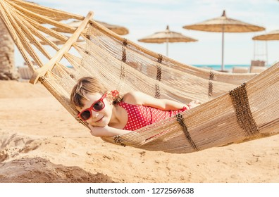 girl child resting on the sea. Selective focus. nature.