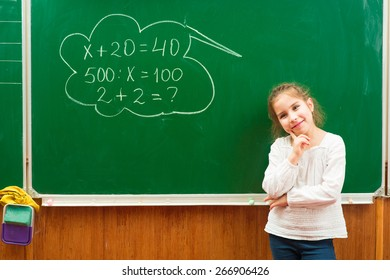 girl in the class equation