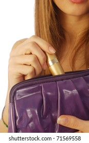 Girl with a clutch 007