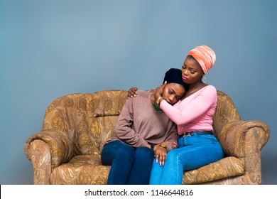 a girl consoling her friend