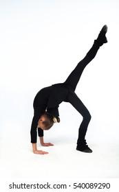 girl dance gymnastics exercise