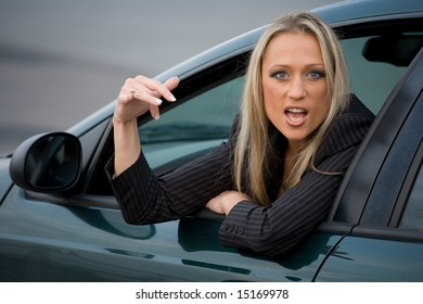 Girl - the driver