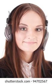 Girl with the earphones