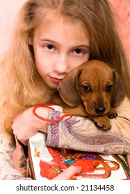 girl end dog