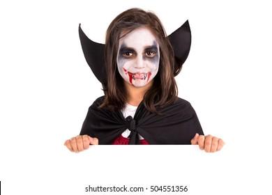 Kid Vampire Images Stock Photos Vectors Shutterstock