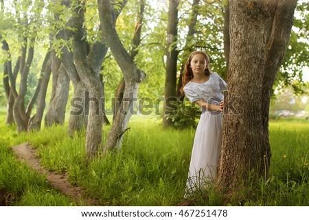 girl in fairy tale