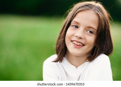 Girl fun joy nature emotions