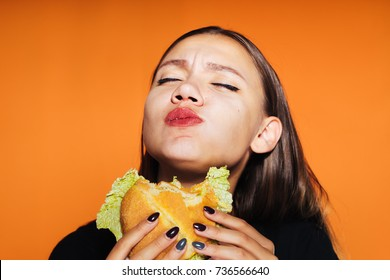 Eating Mouth Full Images, Stock Photos & Vectors | Shutterstock