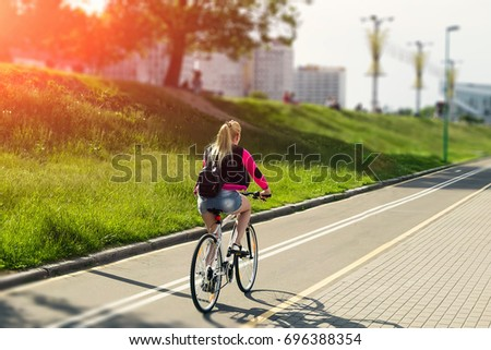 Girl riding a guy video #8
