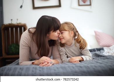 the girl and her mother love