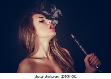 Girl+smoke+hookah Images, Stock Photos \u0026 Vectors