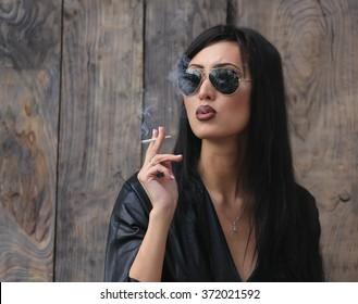 Sexy latino kouření