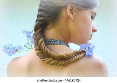 Cool Fishtail Hair Images Stock Photos Vectors Shutterstock Schematic Wiring Diagrams Phreekkolirunnerswayorg