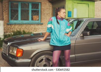 The girl in the nineties is about cars