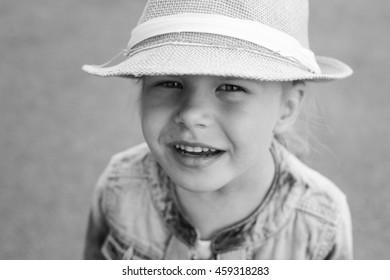 girl on grey background
