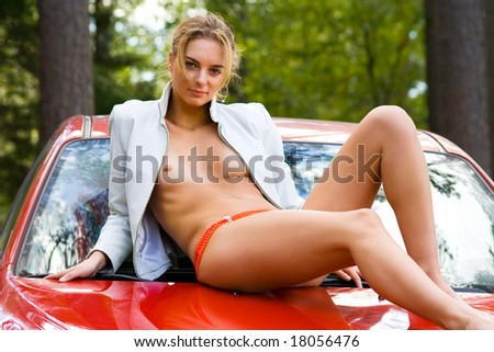 Consider, Women tied on the hood of a car can recommend