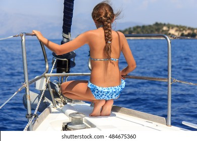 Girl on the sailboat