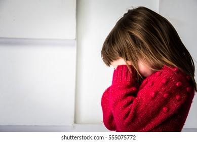 girl praying, crying, hopelessness, despair, prayer.