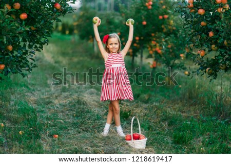 ea1610ee383 Girl Red Dress Red Flower Her Stock Photo (Edit Now) 1218619417 ...