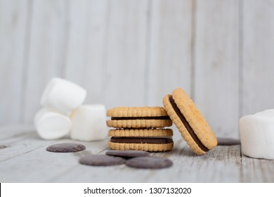 Girl Scout S'mores Cookies