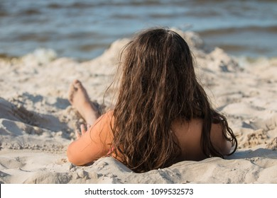Girl. Sea. Summer. Holiday