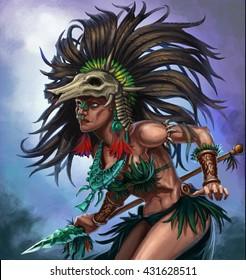 girl shaman