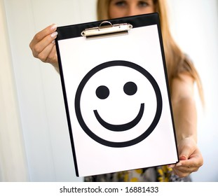 Girl with smile