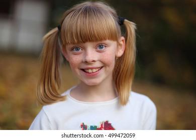 girl, smile, joy,