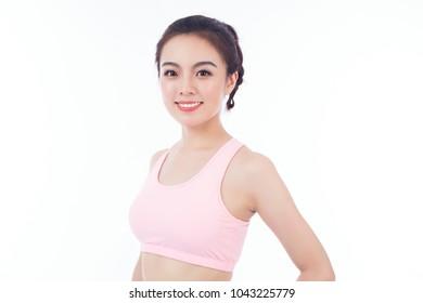 girl in Sports underwear