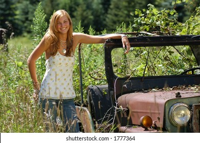 Jeep Girl Images, Stock Photos & Vectors | Shutterstock