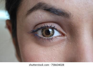 girl staring at something