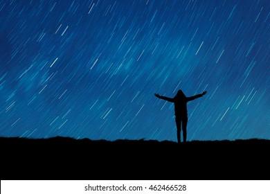 Star Watching Images, Stock Photos & Vectors | Shutterstock