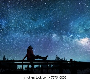 Star Watching Images, Stock Photos & Vectors | Shutterstock