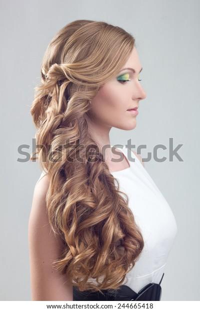 Girl Wedding Hairstyle