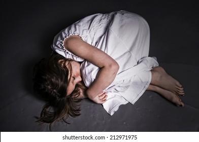 Fetal Position Images Stock Photos Amp Vectors Shutterstock