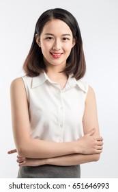 girl in white shirt and skirt