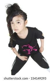 girl who dances a dance