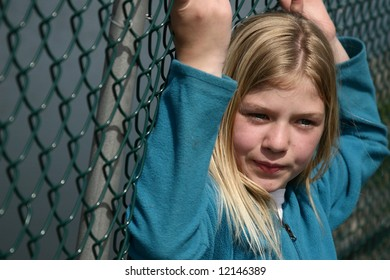 Girl who feels she is up against a wall.