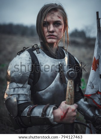 Girl Wounds On Her Face Image Stock Photo Edit Now 794127463