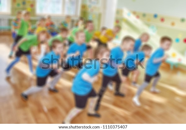 Girls and boys are trained to deviate from the punch blur