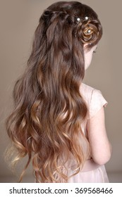 Girls braids. Hairstyle