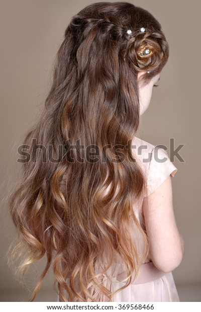 Girls braids. Hairstyle
