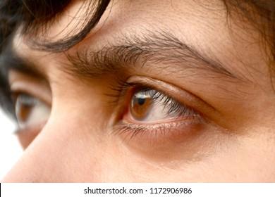 Girls Eye Close-up