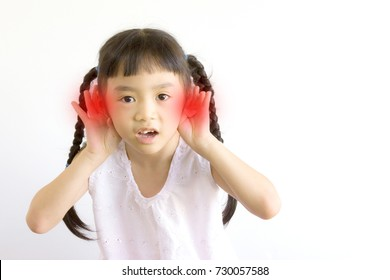 Girls have hearing problems.