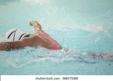 Girl's Swimmer