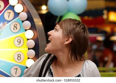 The girls win money at the casino